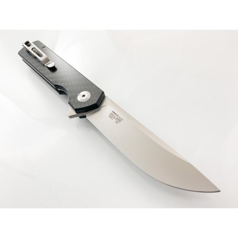 Ganzo FH11 - D2 сгъваем автоматичен джобен нож с дръжка G10