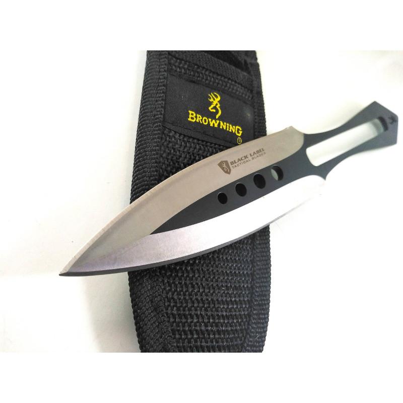 Професионална Кама нож пластина кунай Browning за хвърляне,мятане