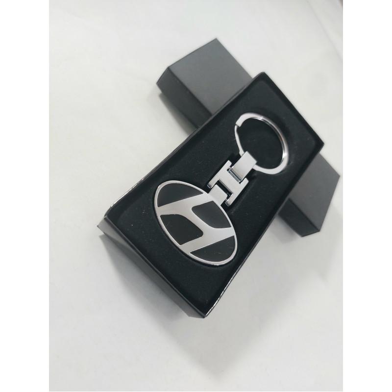 Ключодържател  Hyundai/ Хюндай - сребрист цвят